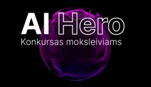 Suomijos pavyzdžio įkvėptas KTU ragina Lietuvos moksleivius geriau pažinti dirbtinį intelektą